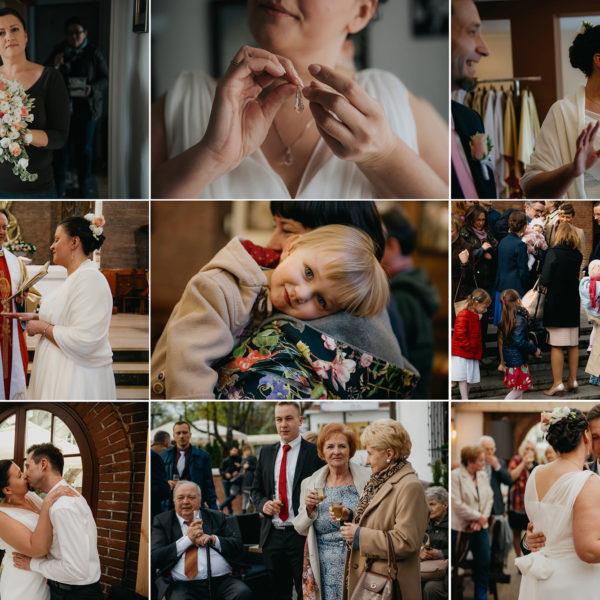 Reportaż ślubny w pigułce   Małgosia i Arek