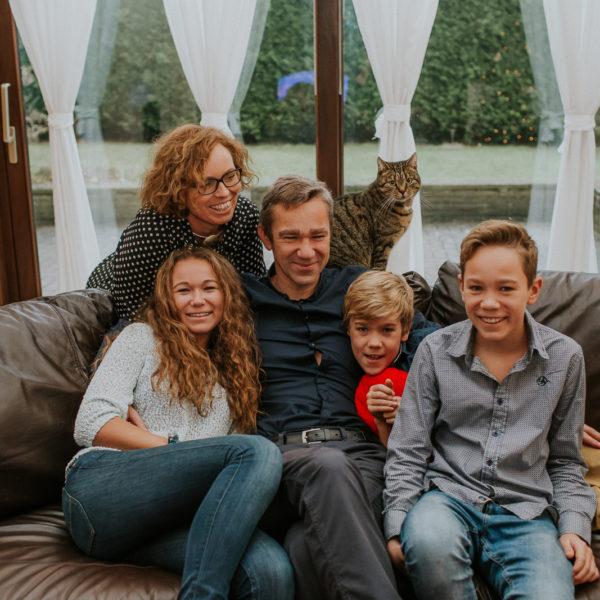 Ania, Piotr, Julia, Staś i Franek
